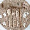 Bambusové příbory - Cestovní sada