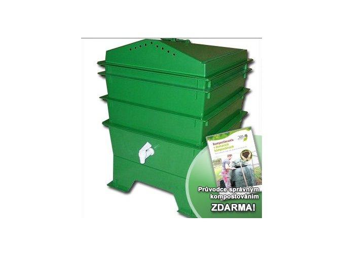 Vermihut kompostér