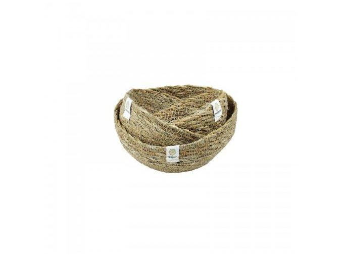 Ošatky z mořské trávy Respiin - Mini set Natural