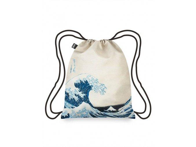 LOQI batoh Museum - Hokusai The Great Wave