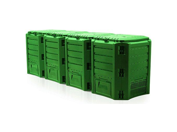 Kompostér JRK HOBBY 1600 Module zelený