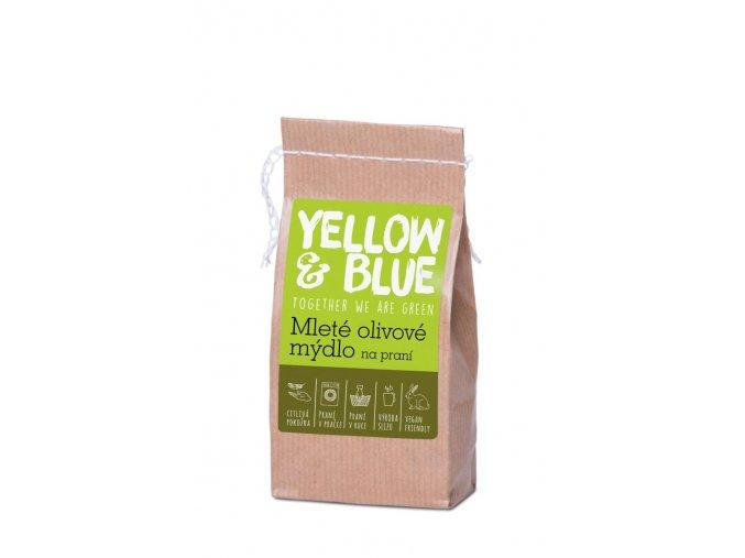 Mleté olivové mýdlo na praní