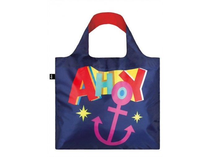 LOQI Nautical ahoy bag front (1)