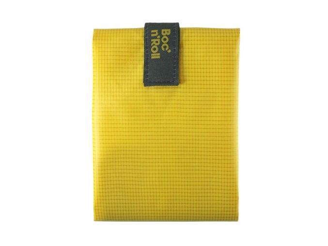 sandwich wrapper bocnroll square pack yellow