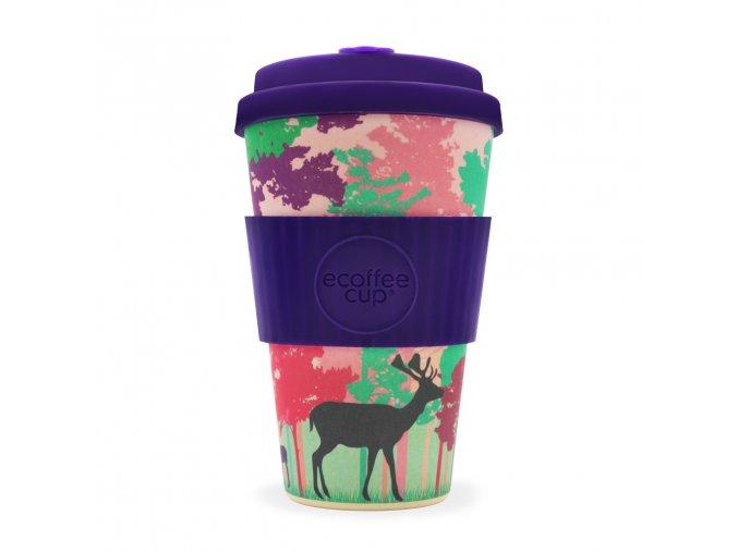 Bambusový hrnek Ecoffee Frankly My Deer - 400 ml
