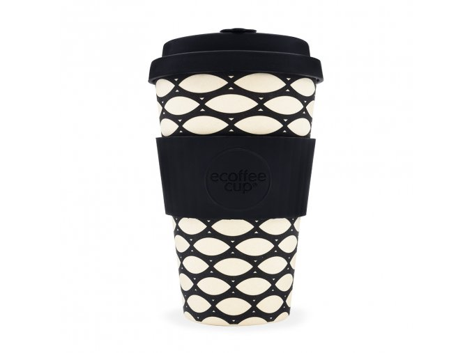 Bambusový hrnek Ecoffee Basketcase - 400 ml