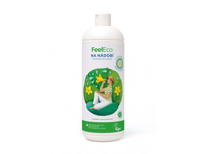 82 1 feel eco prostredek na nadobi s vuni okurky 1l