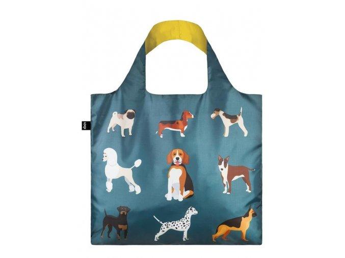 LOQI taška - CATS & DOGS Woof