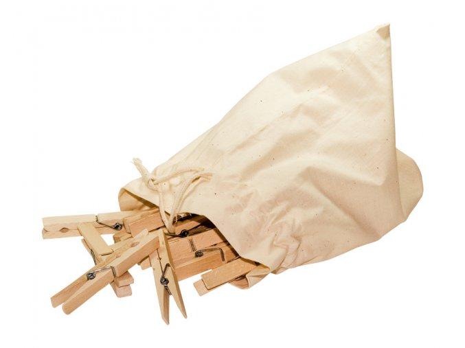Dřevěné kolíčky na prádlo JUMBO - 20ks