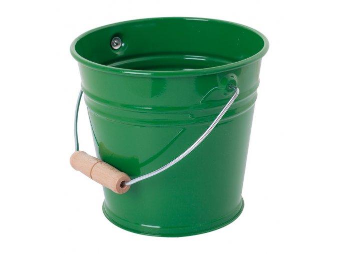 Dětský kyblík na písek - Zelený