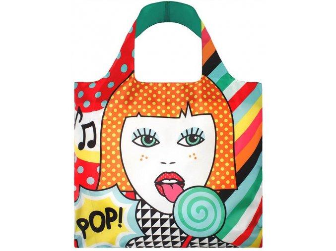 Loqi Nákupní taška LOQI Bag Lollipop