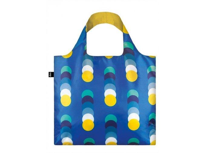 LOQI taška - Geometric Circles New