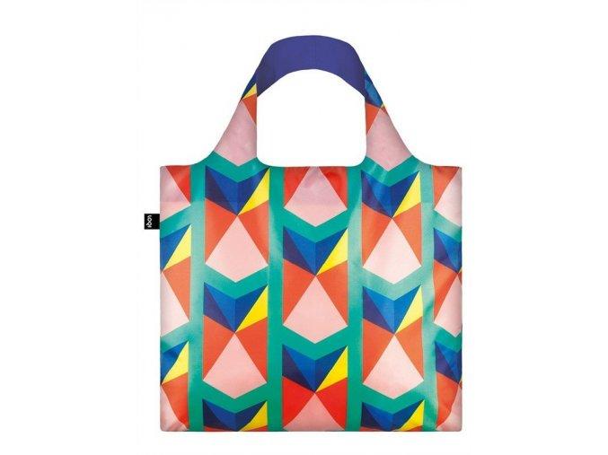 LOQI taška - Geometric Triangles New