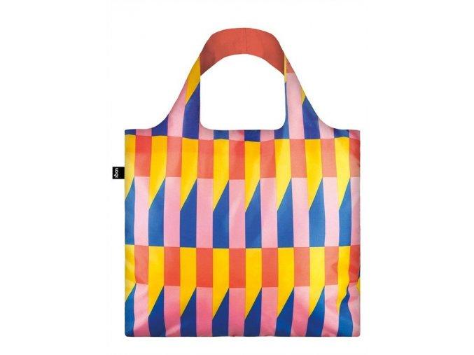 LOQI taška Geometric Stripes New