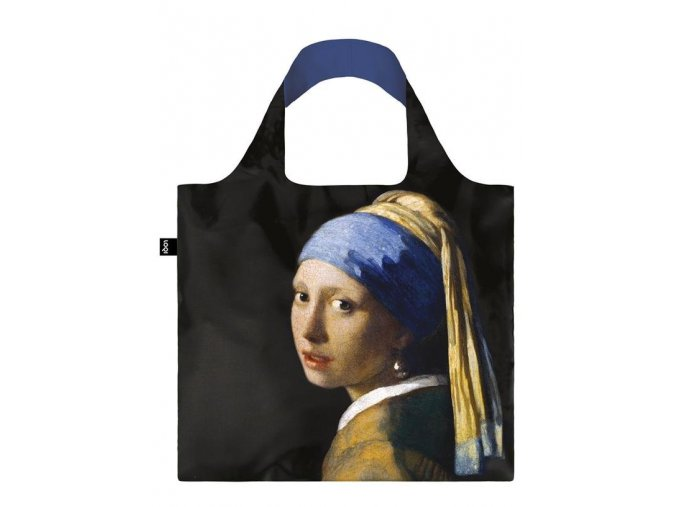 LOQI taška museum, Vermeer - Girl with a Pearl Earring