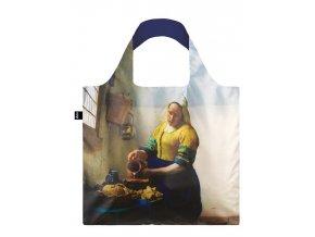 LOQI taška Museum,Vermeer - The Milkmaid with Irma Boom