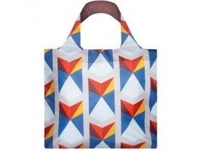 LOQI taška Geometric - Triangles