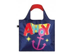 LOQI Nautical ahoy bag front (1)