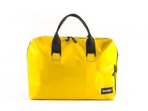 Business Yellow Upcycling taška