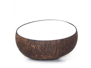 Kokosová miska PURE WHITE - 15cm