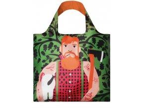 LOQI Nákupní taška Lumber Jack