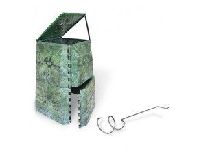 Kompostér JRK 445 PREMIUM  + Překopávač ZDARMA + Průvodce kompostováním