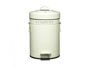 Koš na bioodpad - pedálový