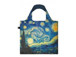 Loqi Nákupní taška LOQI Bag VINCENT VAN GOGH The Starry Night