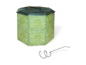 Kompostér JRK 1400 PREMIUM  + doprava zdarma + Průvodce správným kompostováním